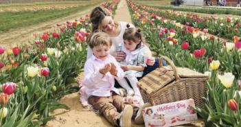 spring family photo shoot NJ