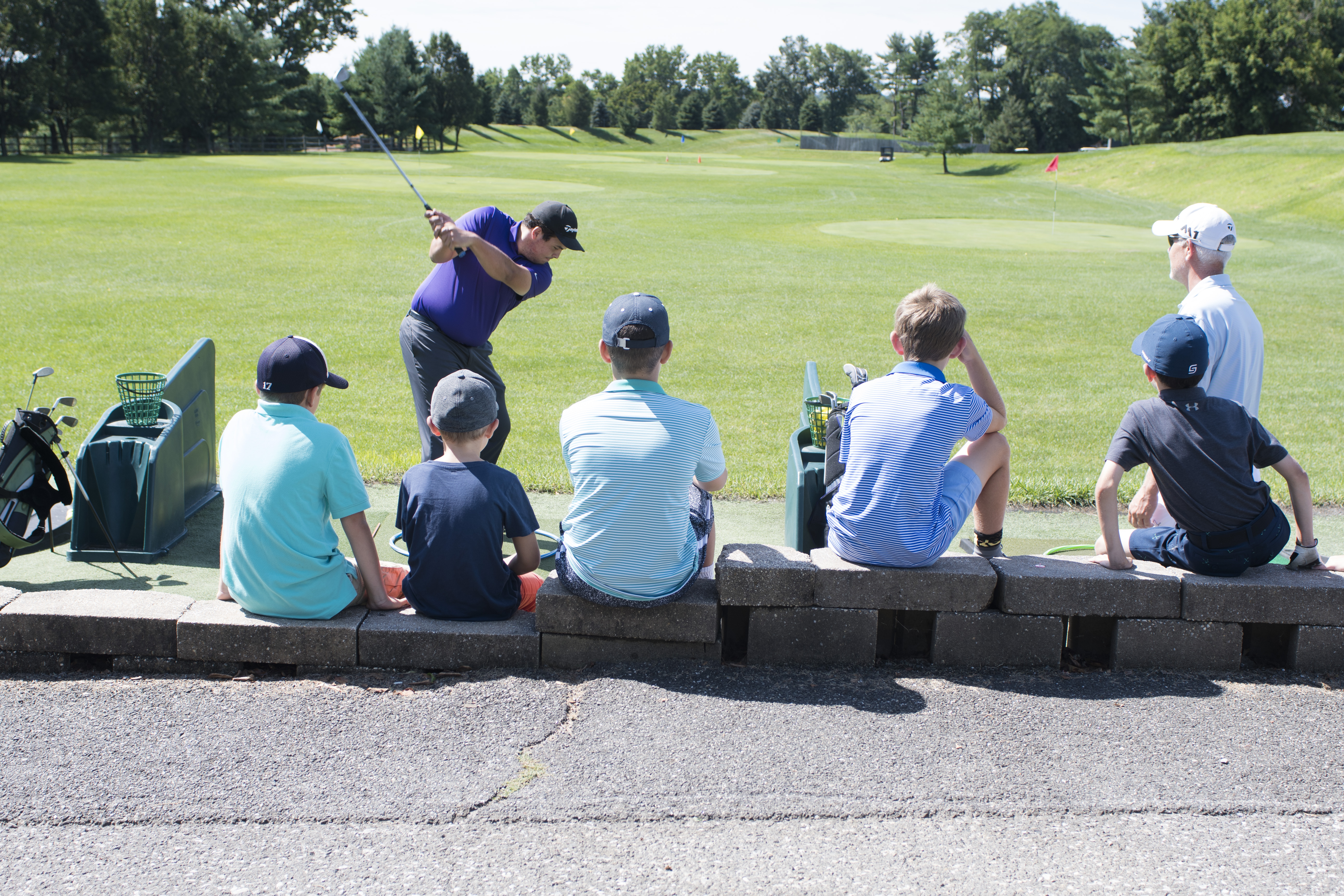 Basking Ridge Country Club, kids golf, kids golf New Jersey, New Jersey golf camps
