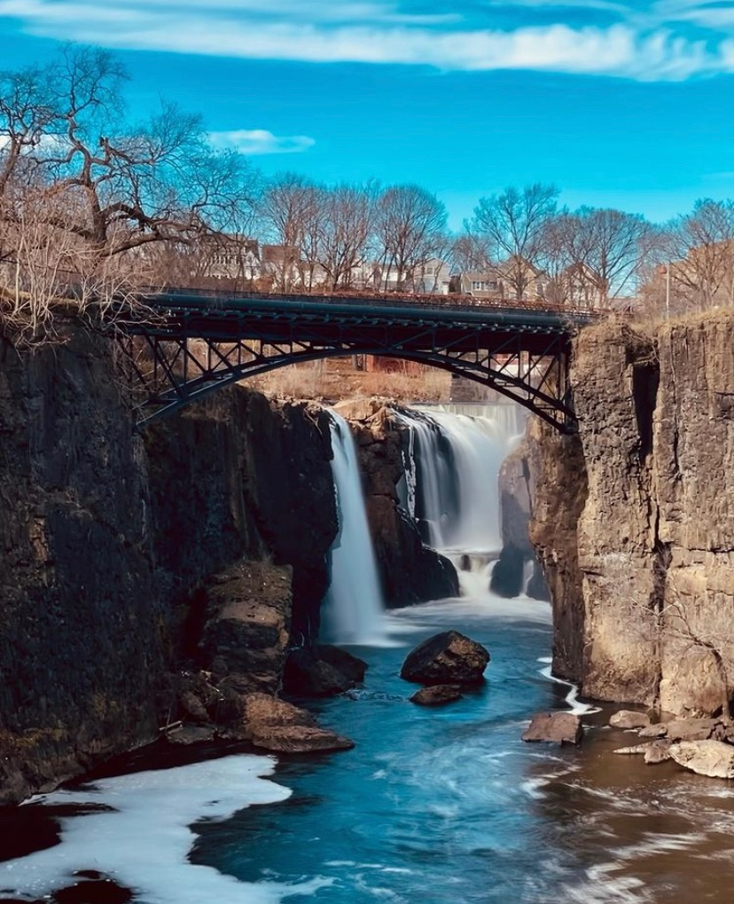 nj waterfall paterson great falls