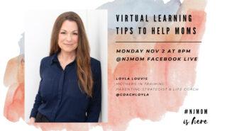 NJMOM Virtual learning tips FB Live