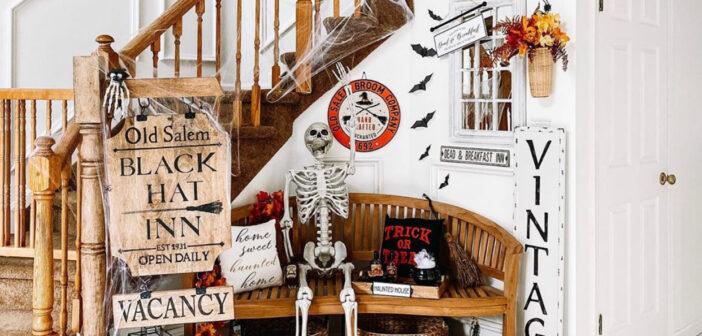 nj mom halloween decor #njmom fall decorations