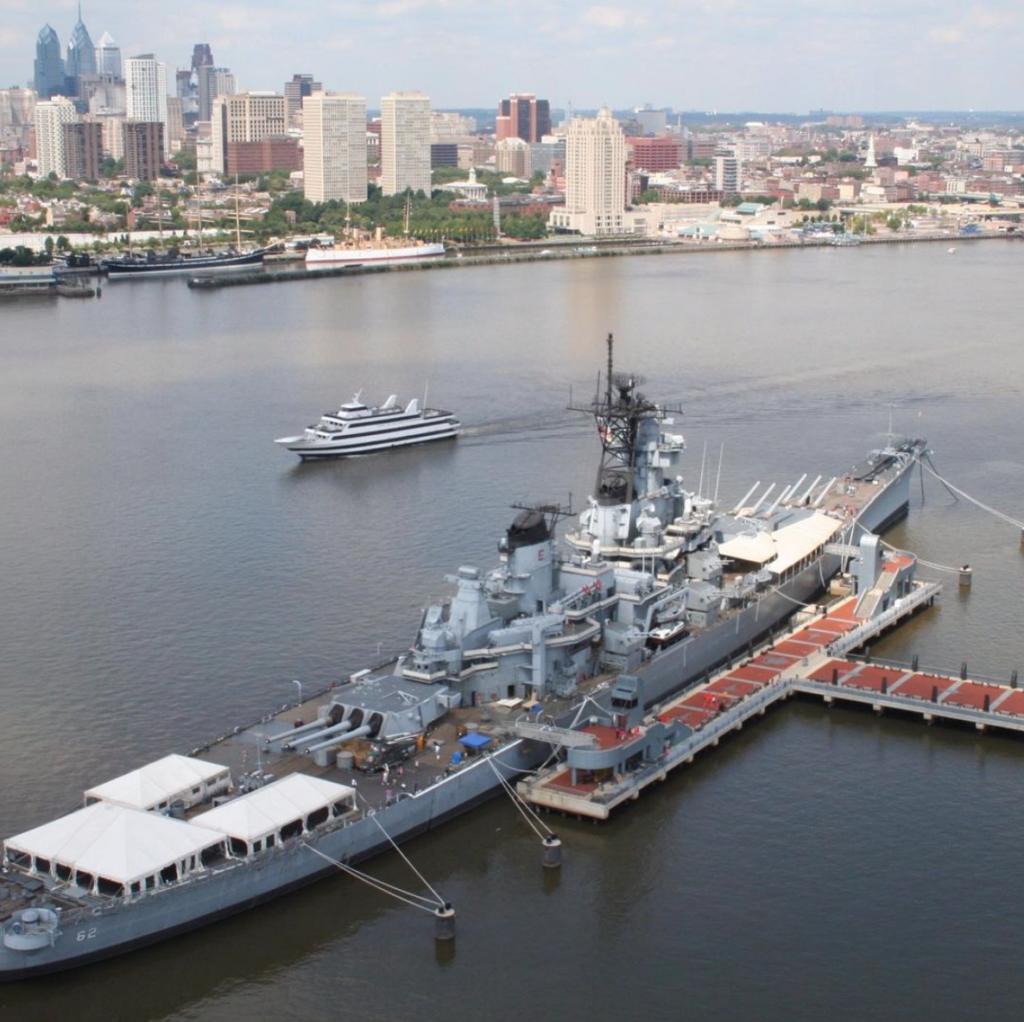 NJ attractions, battleship nj