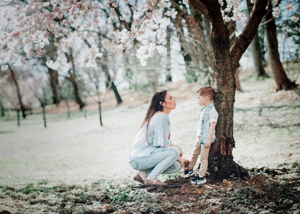 photoshoots in nj cherry blossom