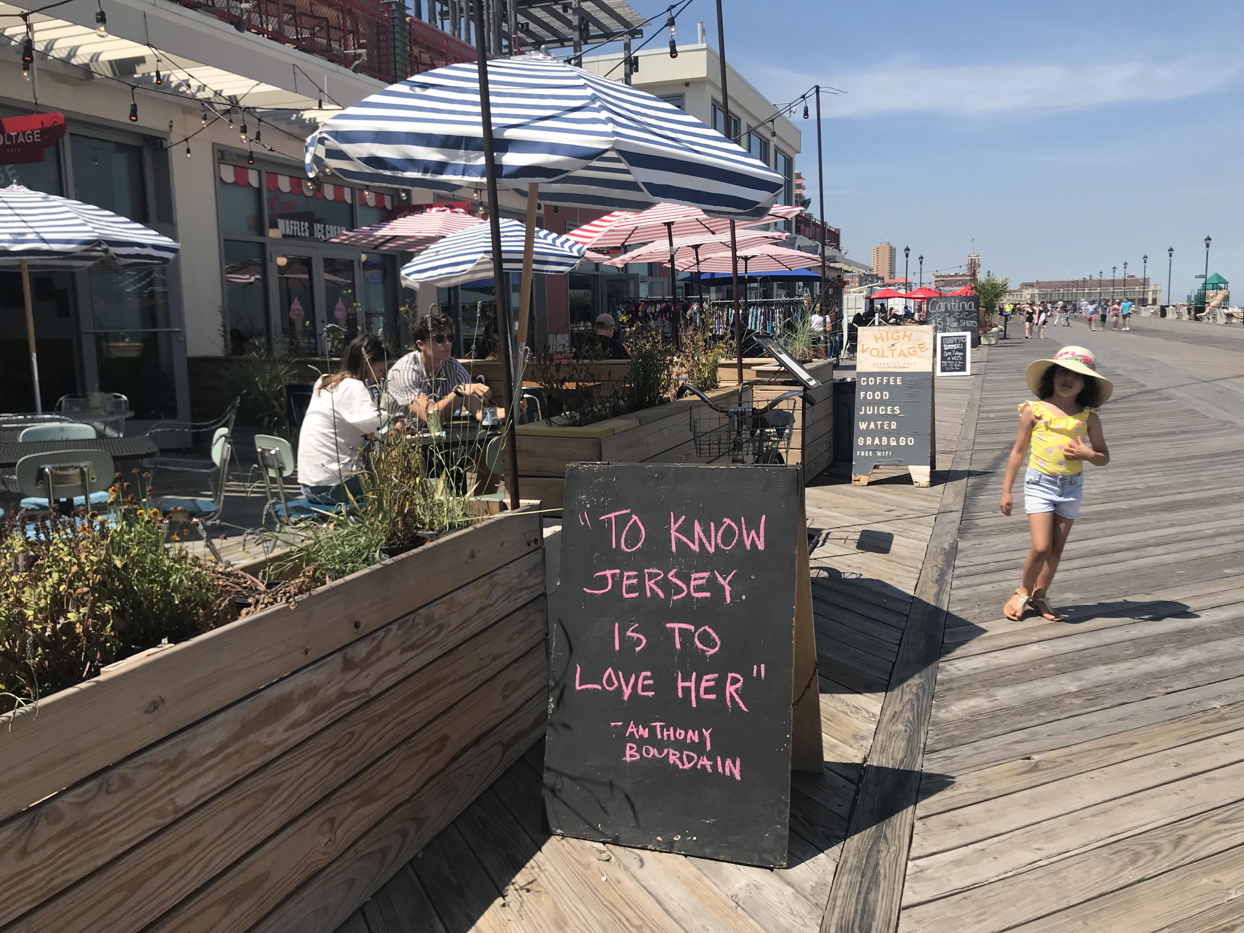 boardwalks in NJ