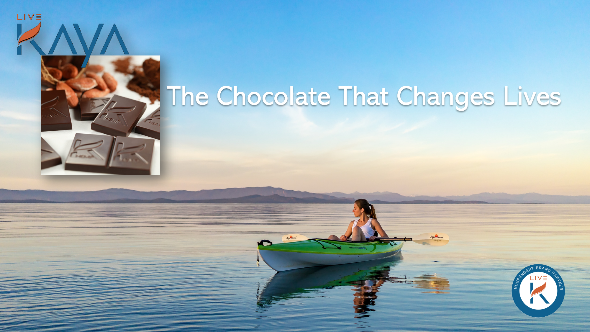 Live Kaya the chocolate that changes lives