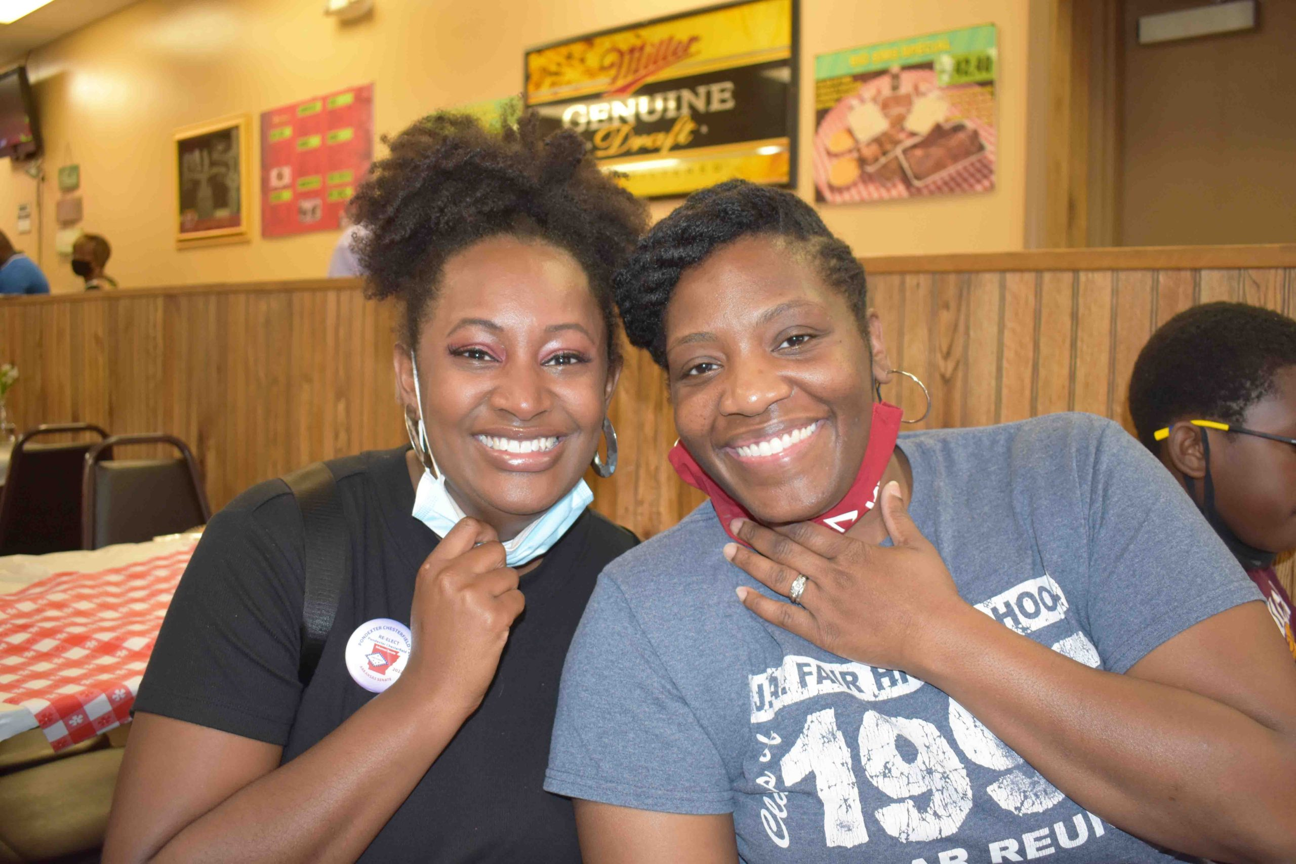 Dionne Mitchell, Tamika Edwards