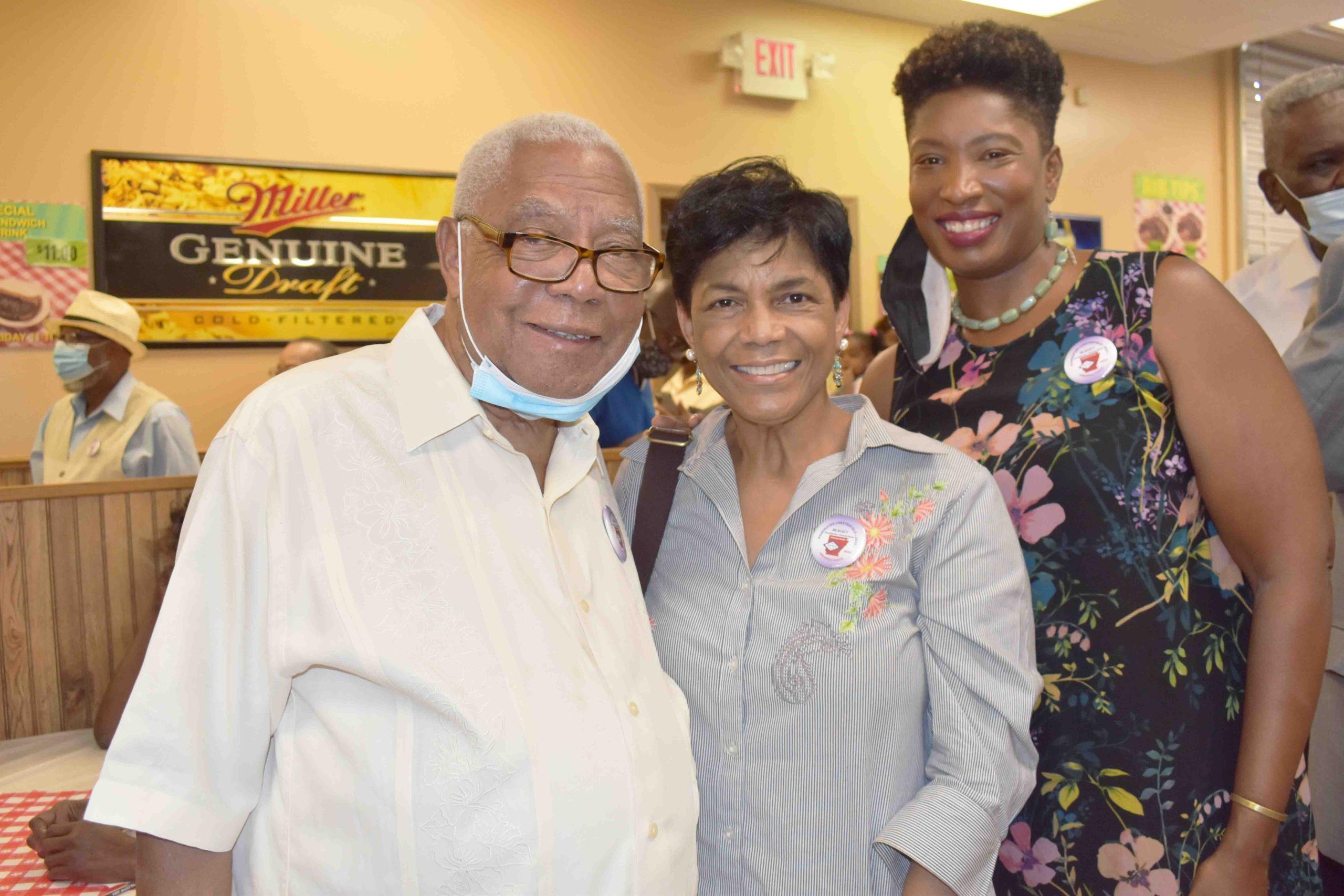 Rev. Dr. R.J. & Regina Hampton, Rep. Denise Ennett
