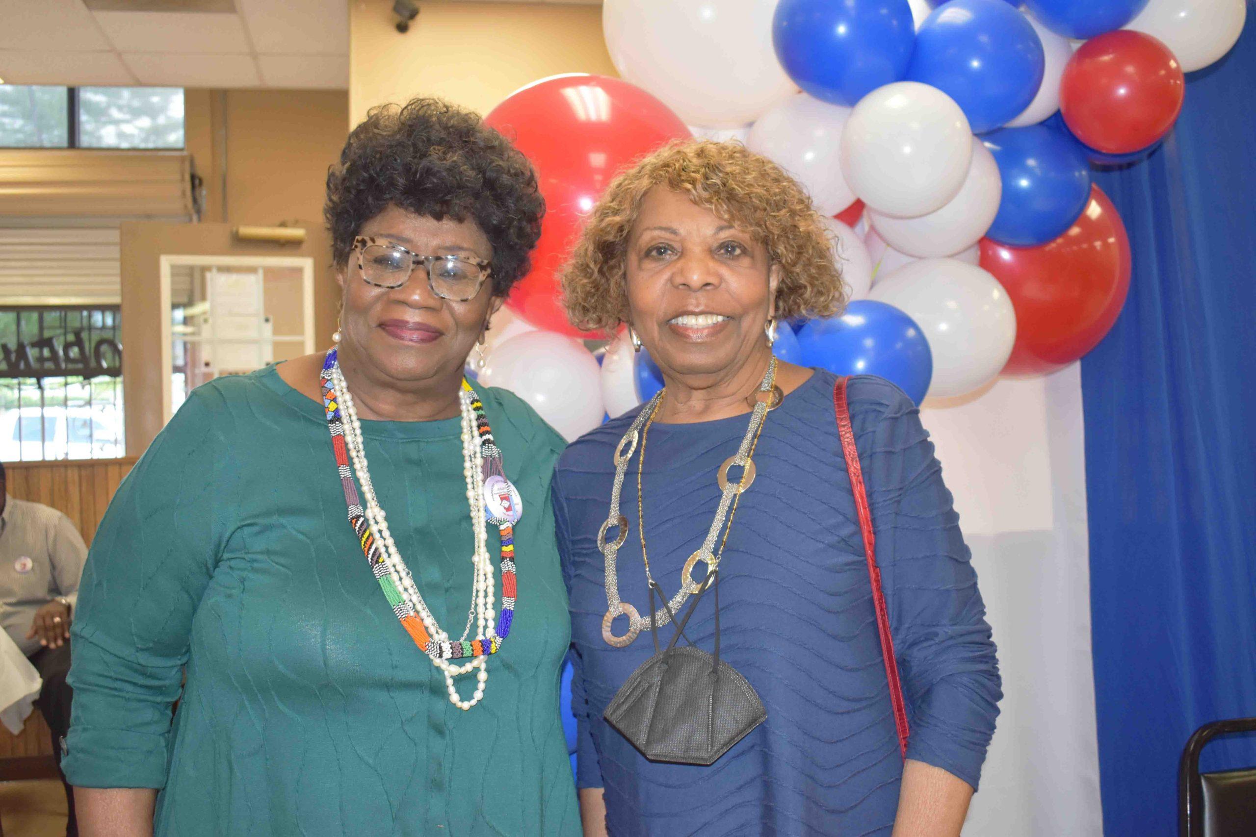 Sen. Linda Chesterfield, Hon. Lottie Shackleford