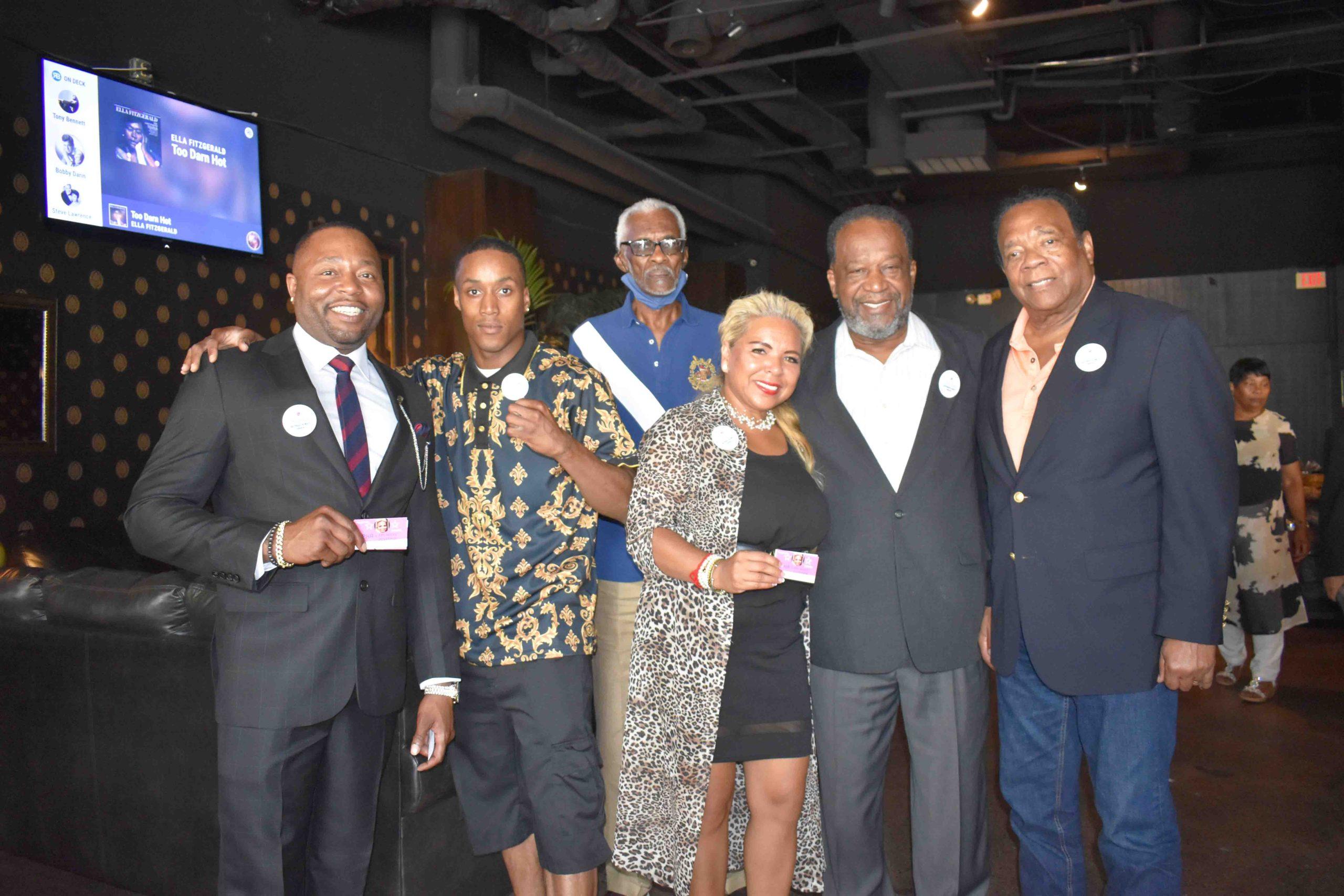 Supha Xayprasith-Mays (center), Richard Johnson, Derrick Person, Jr., Jack Foster, Bob Nash, Hon. Richard Mays, Sr.