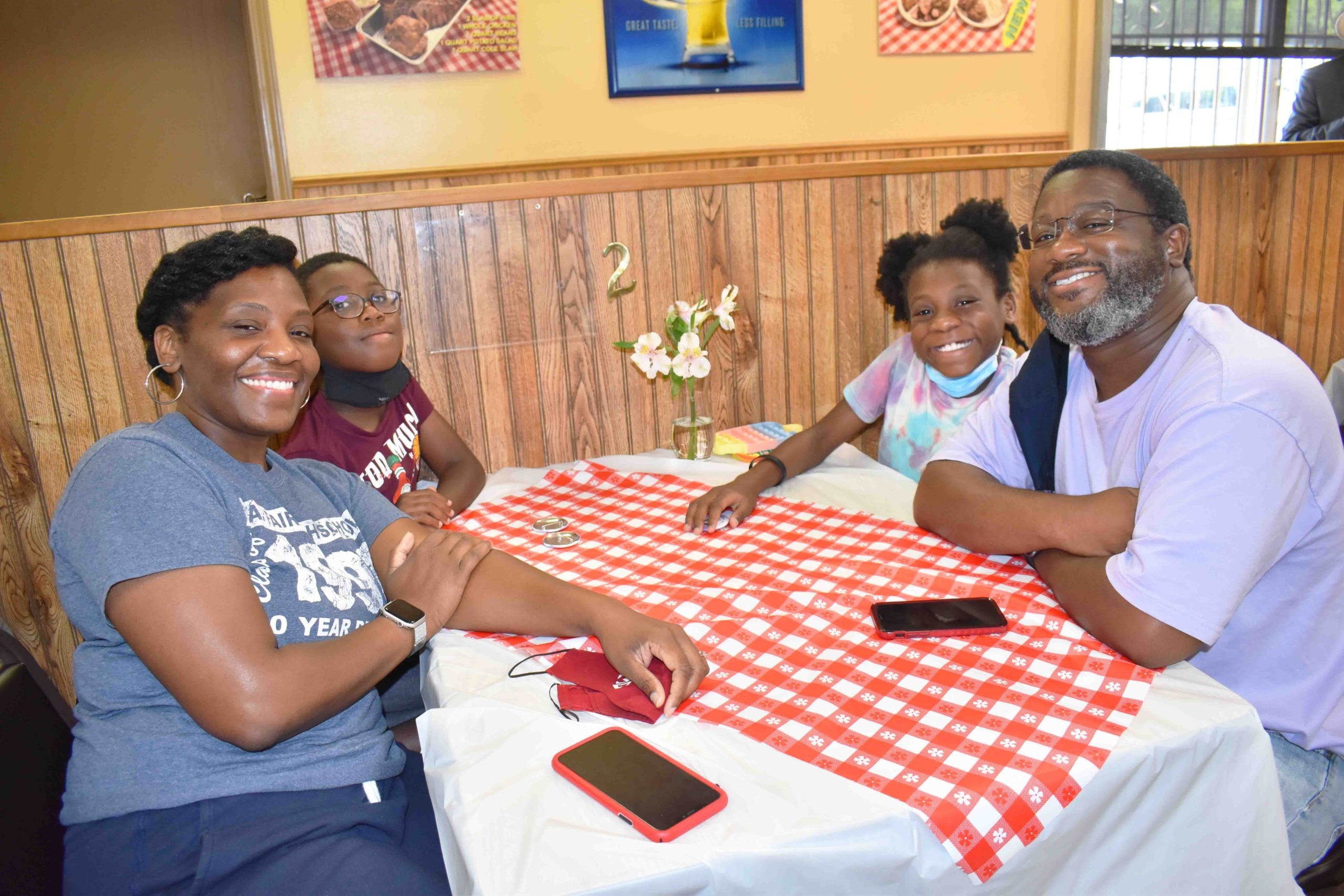 Tamika, Quincy, III, Abby, & Quincy Edwards
