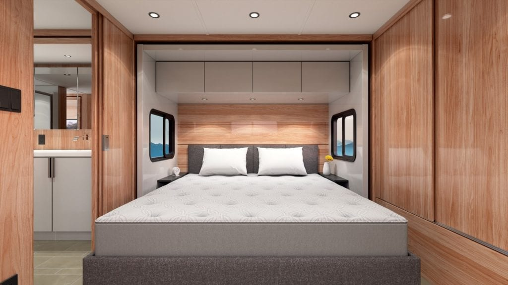 Sleep Number introduces r3 bed for RV use