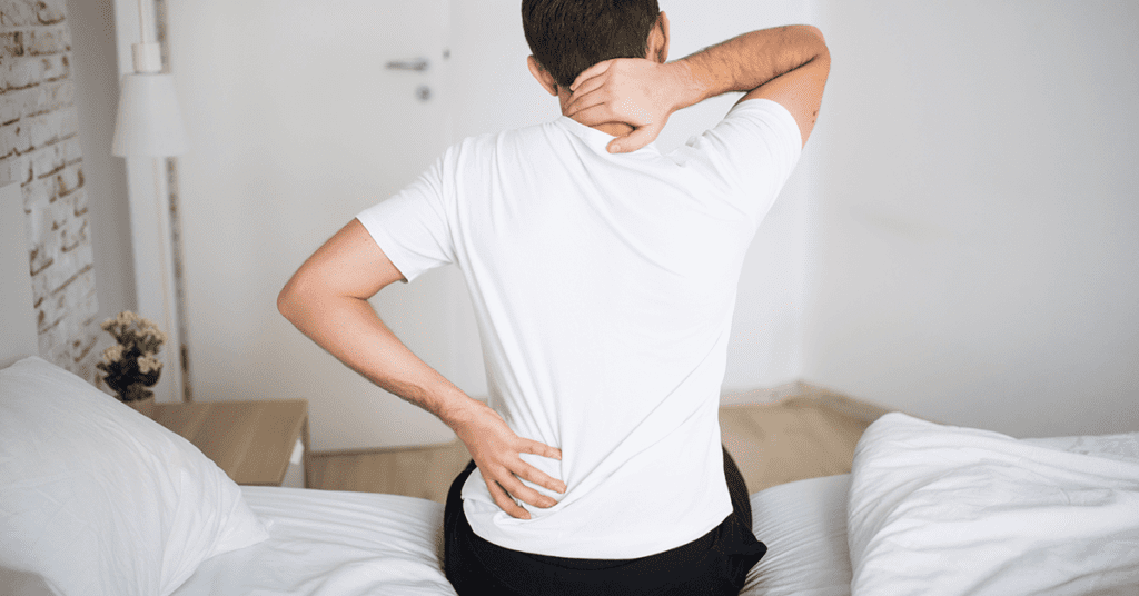 Pain in the neck - Best Mattress for Neck Pain - Mattress Review