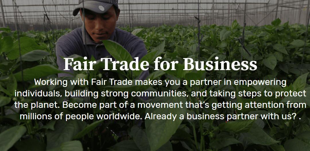 Fair Trade Certifications