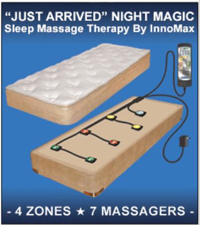 Night Magic Sleep Massage Therapy Unit