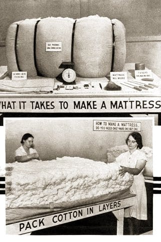USDA 1940 cotton mattress making circular