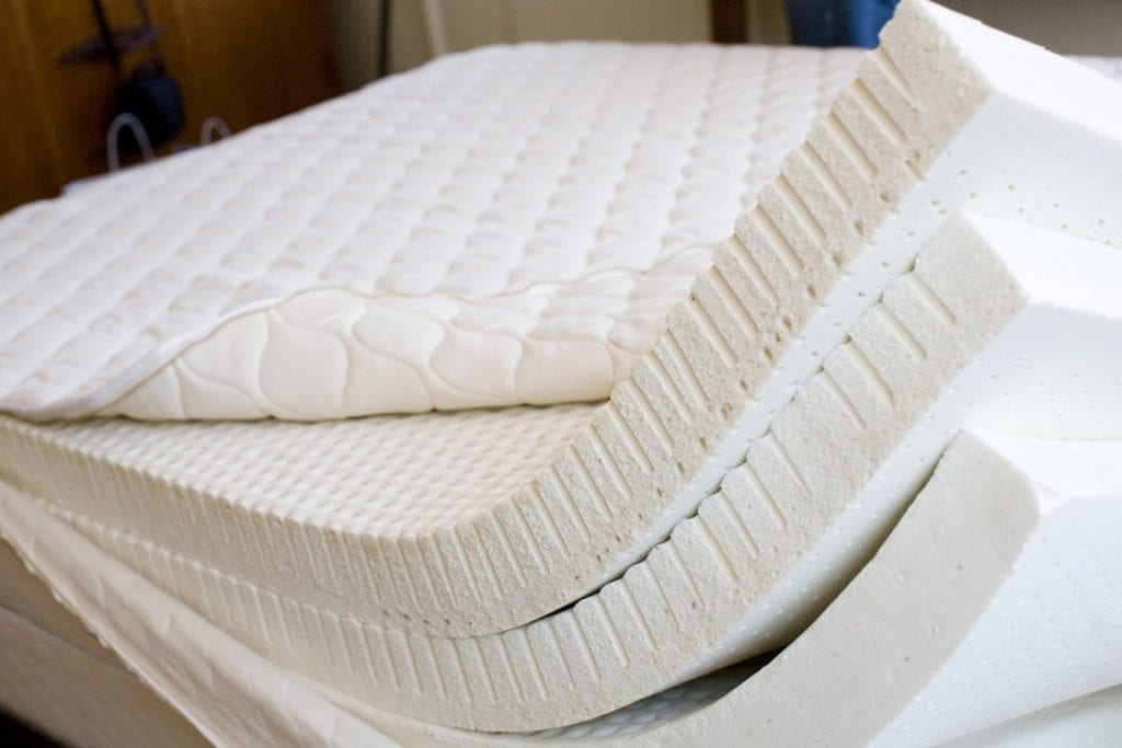 Varieties of Memory Foam Open Cell Air-Cool Gel Plant Based Form-Forming