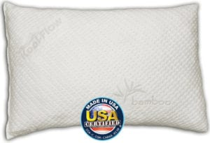 Snuggle-Pedic Ultra-Luxury Shredded Memory Foam Pillow