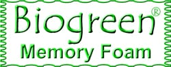 Biogreen Memory Foam for Mattresses