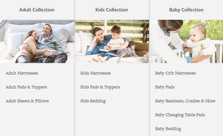 Naturepedic Mattress Adult Kids Baby Collections
