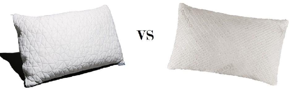 Coop Home Goods Original vs Snuggle-Pedic Ultra Luxury Pillows