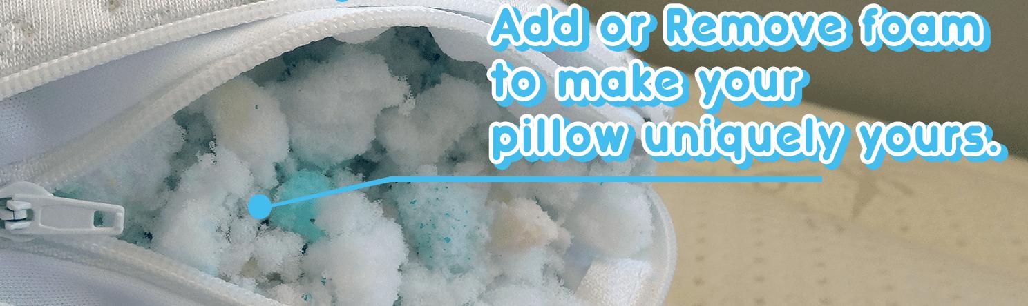 Shredded Memory Foam: Pillow Material