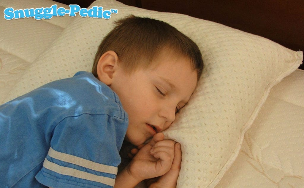 Snuggle-Pedic Toddler Kids Memory Foam Pillow
