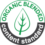 Organic Blended Content Standard Seal