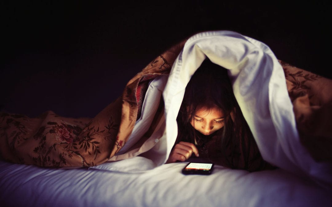 Electronics and Sleep Issues: Block The Blue Light