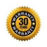 30-Year Warranty