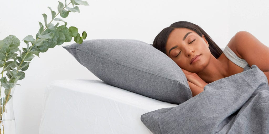 Side Sleeper Reducing Sleep Apnea