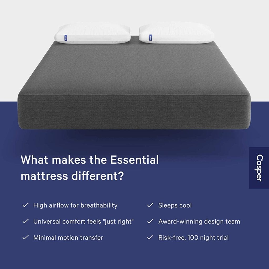 The Casper Essential Mattress - What Makes It Different