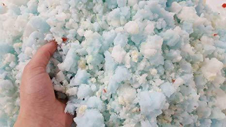 shredded polyurethane foam