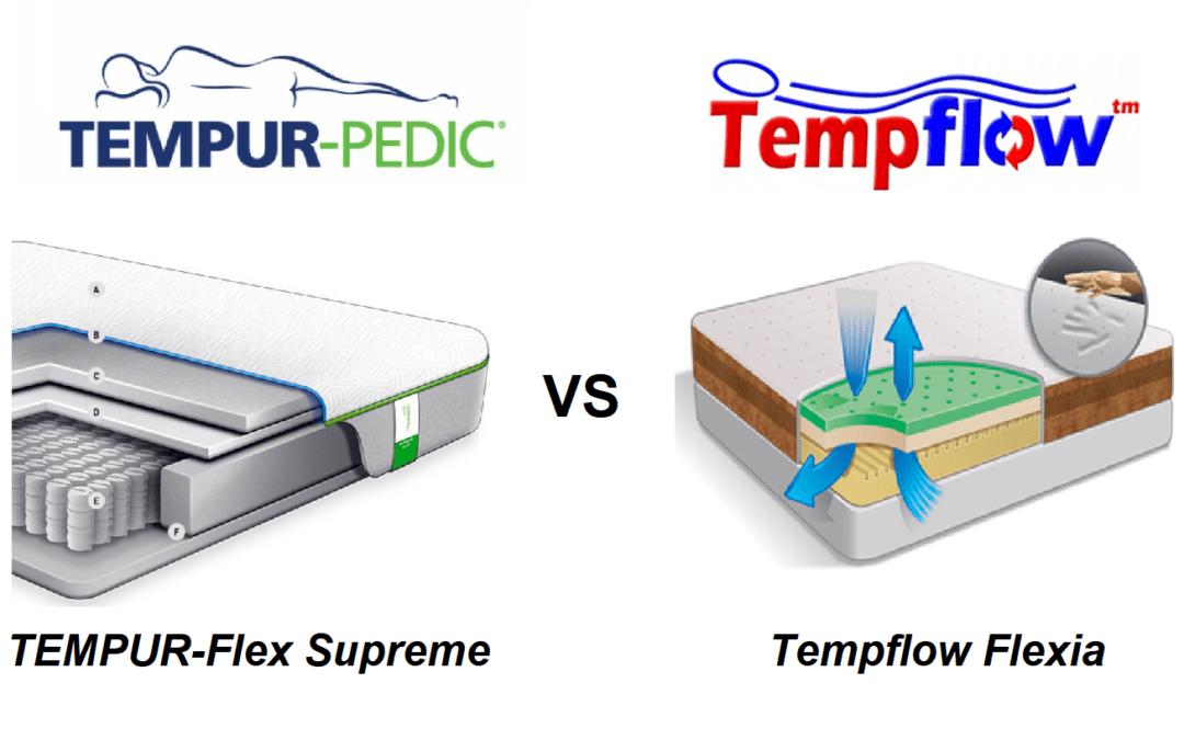 TEMPUR-Flex Supreme vs. Tempflow Flexia