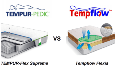 TEMPUR-Flex Supreme vs. Tempflow Flexia