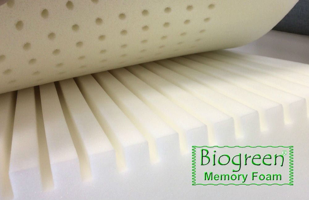 Biogreen Memory Foam - Environmentally friendly mattress foam