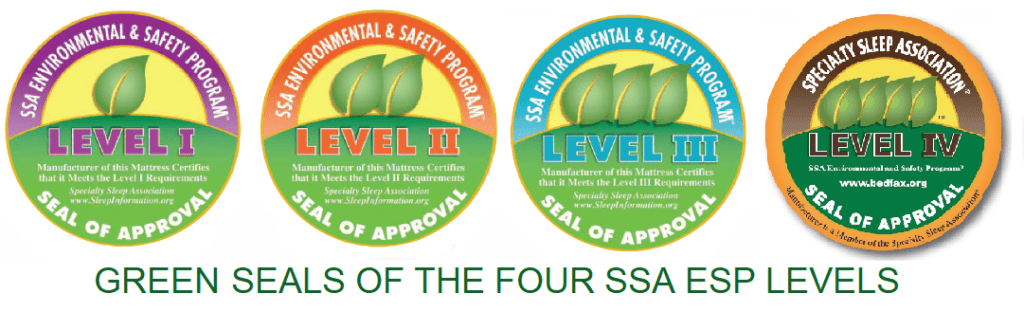 Four Green Seals of the SSA Evironmental & Safety Program