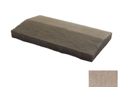 Flagstone Sloped Wall Cap Taupe