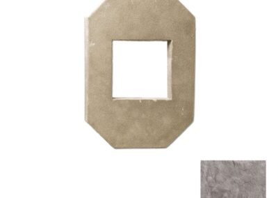 Utility Electrical Box Octagon Double Taupe