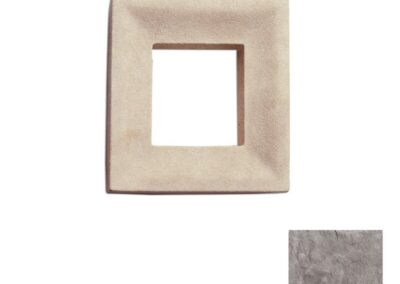 Utility Electrical Box Smooth Double Taupe