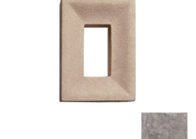 Utility Electrical Box Smooth Single Taupe