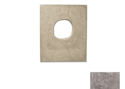 Utility Lightbox Textured Taupe
