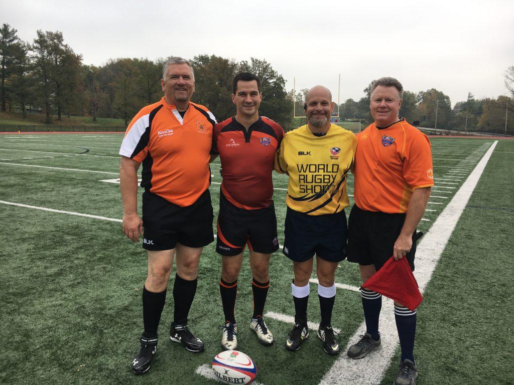 L to R: Jerry Butler, Matt Merrick, Barry Tantaris, Larry Glascott