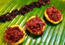 Cazuelitas de flor de jamaica