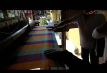 Tejidos en los telares de Teotihuacán