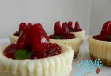 Mini cheesecake - Receta enviada por Itakua Gourmet