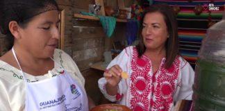Guacamole con sandía