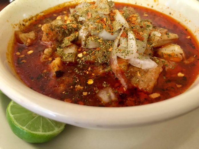 Menudo o pancita estilo Ciudad Juárez
