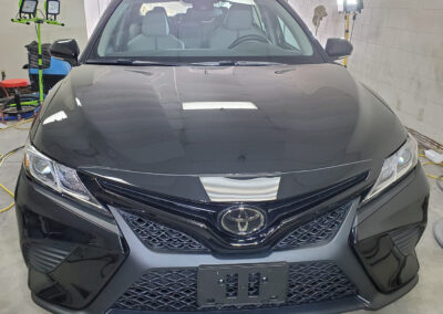 2021 Black Camry Coated with 5-Year Aviation Grade Ceramic Coati
