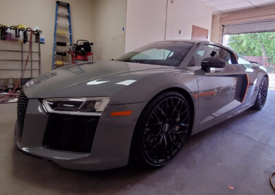 2017 Audi R8 Coated with Aviation Grade 2-Year Ceramic