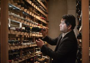 Jorge Tinoco, sommelier (Photo by Nader Khouri)